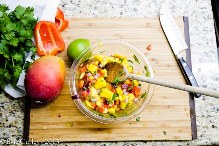 A Whimsical Life - Mango Salsa